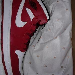 Nike Air Jordan 1 Mid Chicago bull shoes sneakers